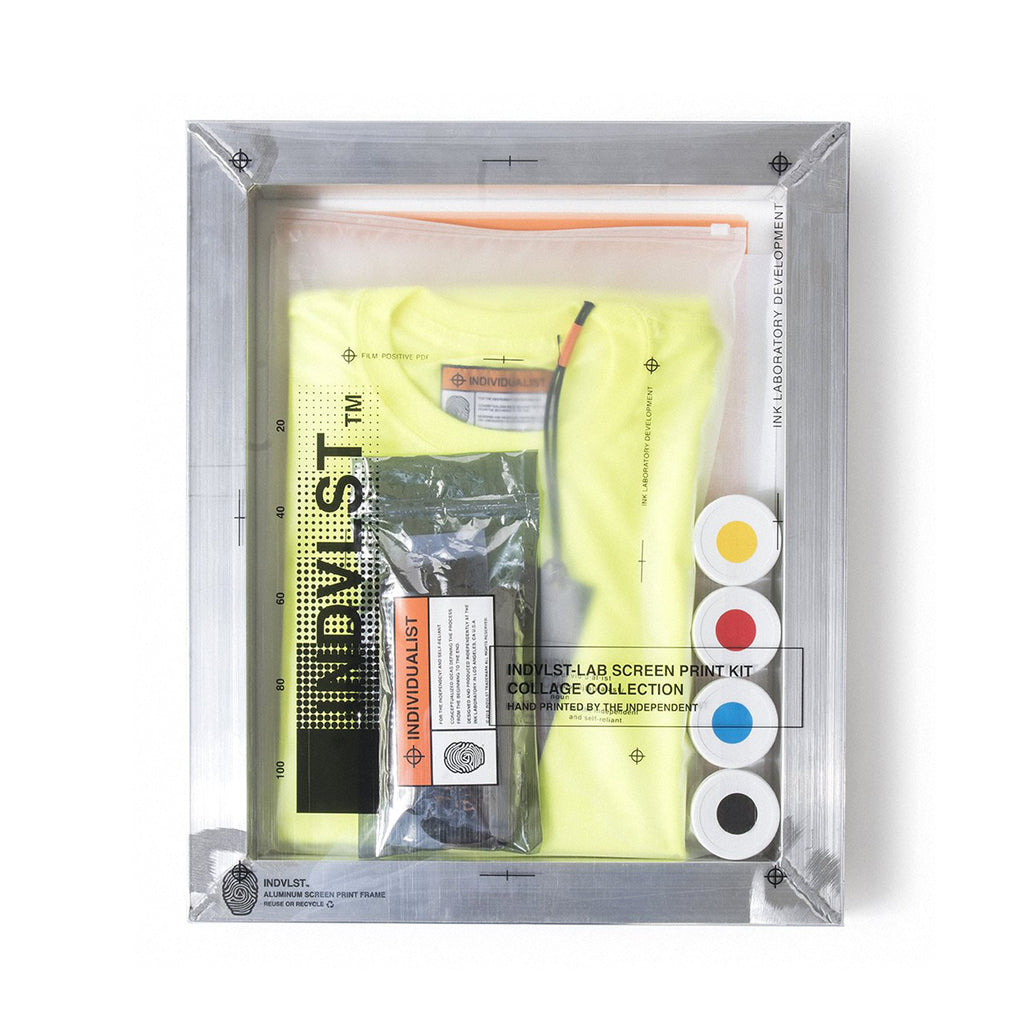 INDVLST - Lime Think and Become Screen Print Activation Kit