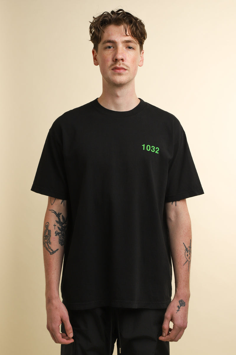 1032 SPACE - Black 1032 Space Logo T-Shirt