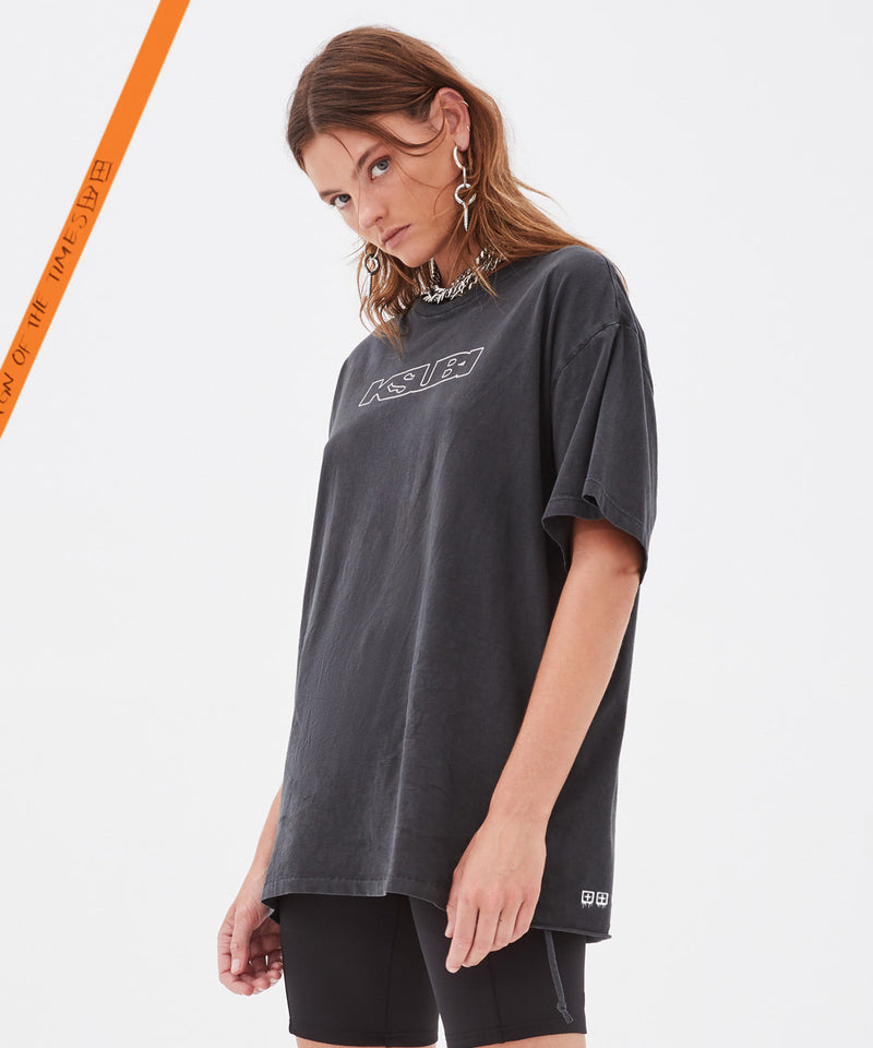Ksubi - Black Unisex Sign of the Times T-Shirt