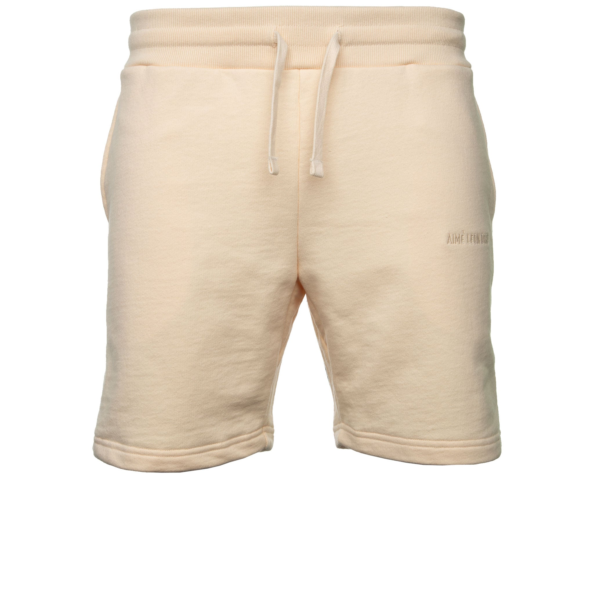 Cream French Terry Shorts