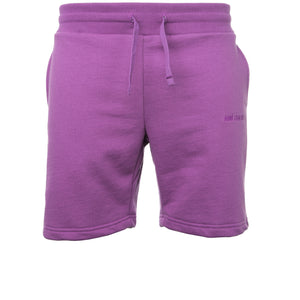 Purple French Terry Shorts