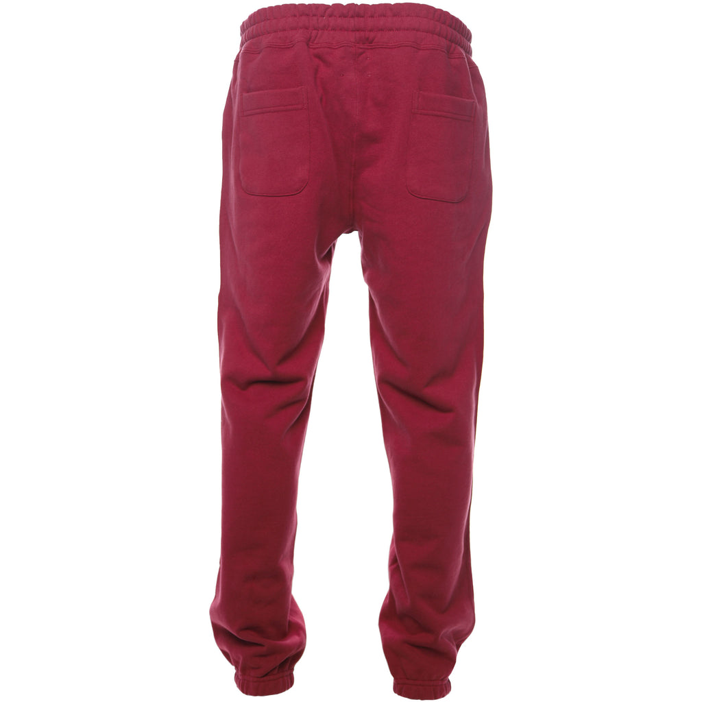 Aime Leon Dore Logo Sweatpants Burgundy Fall Winter 2018 Back