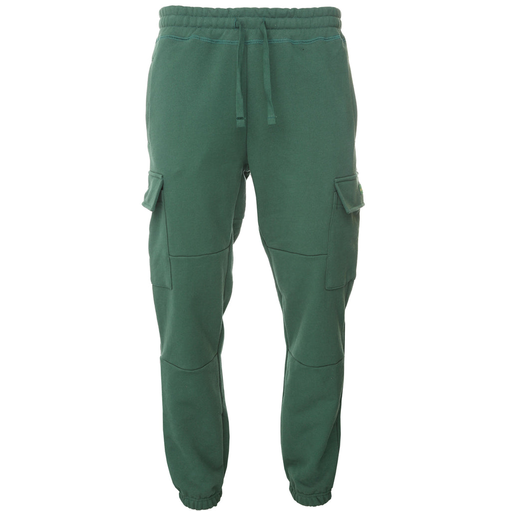 Green Terry Cargo Sweatpants