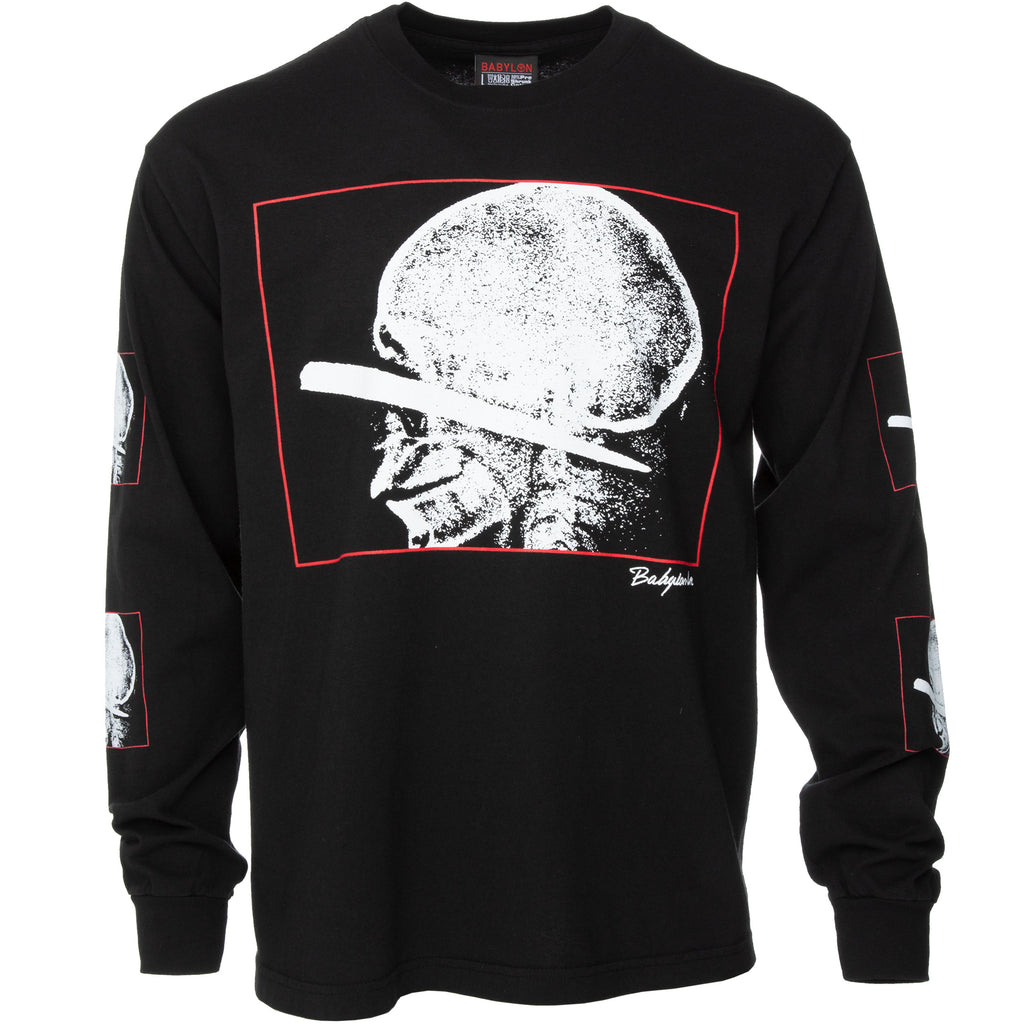 Black Penetrate Long Sleeve T-Shirt
