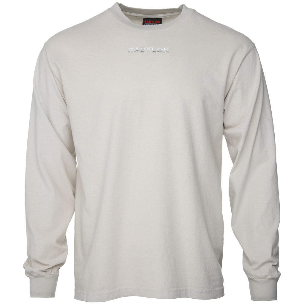 Grey Shop Logo Long Sleeve T-Shirt