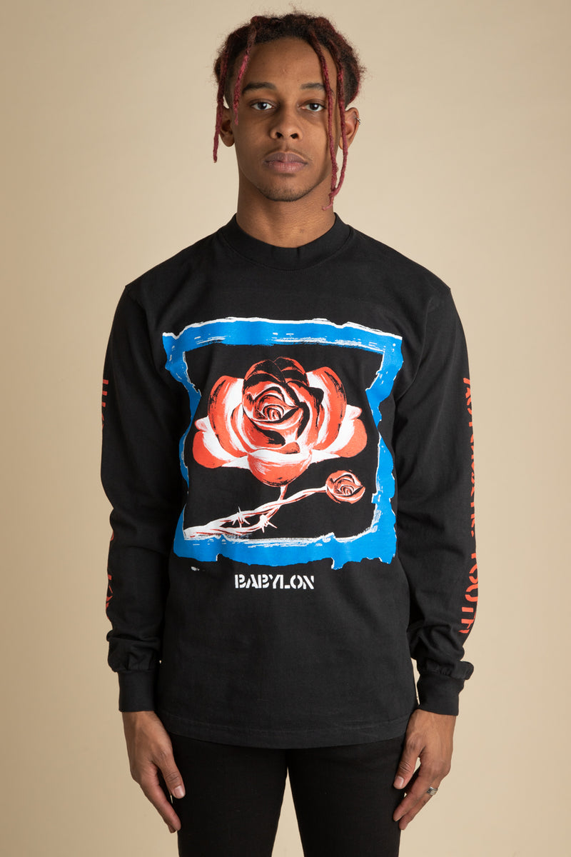 Babylon - Black Automatic Youth L/S T-Shirt