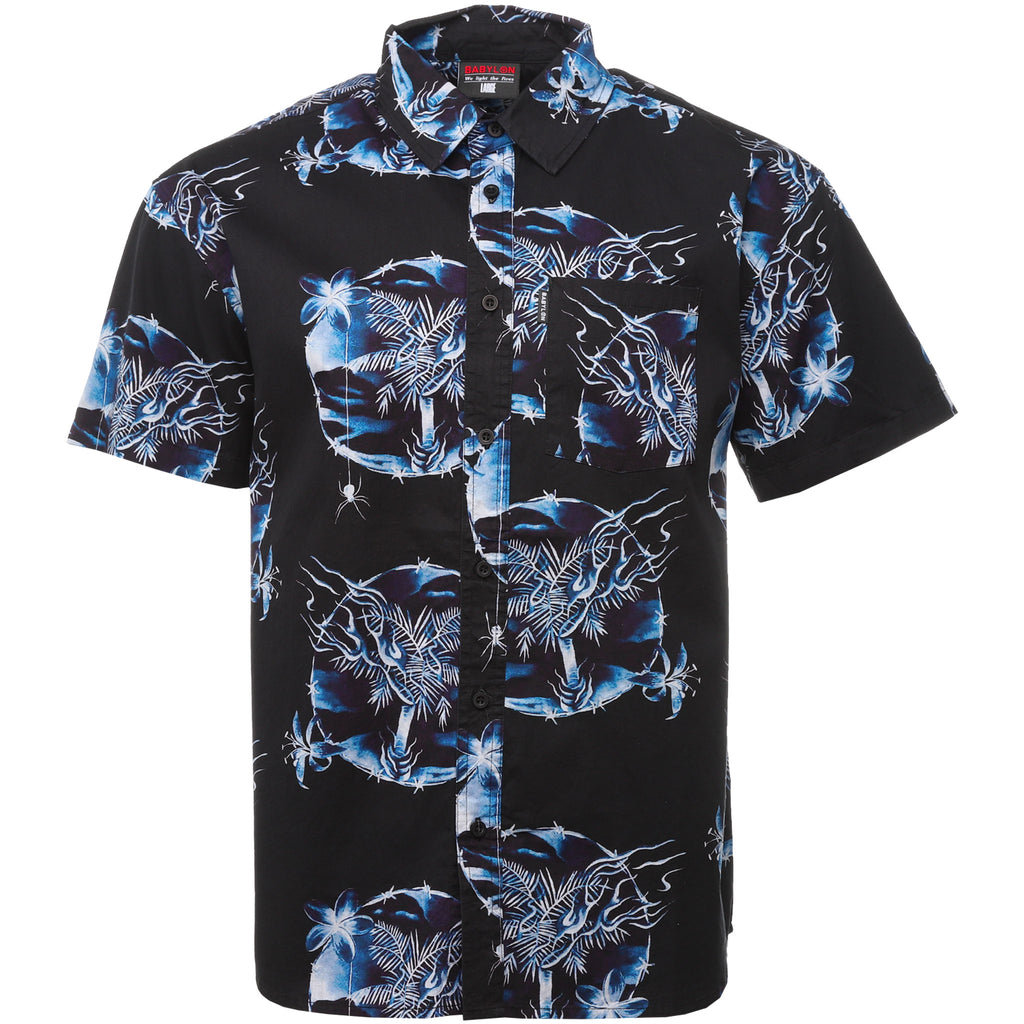 Babylon - Black Othelo Button Up Shirt