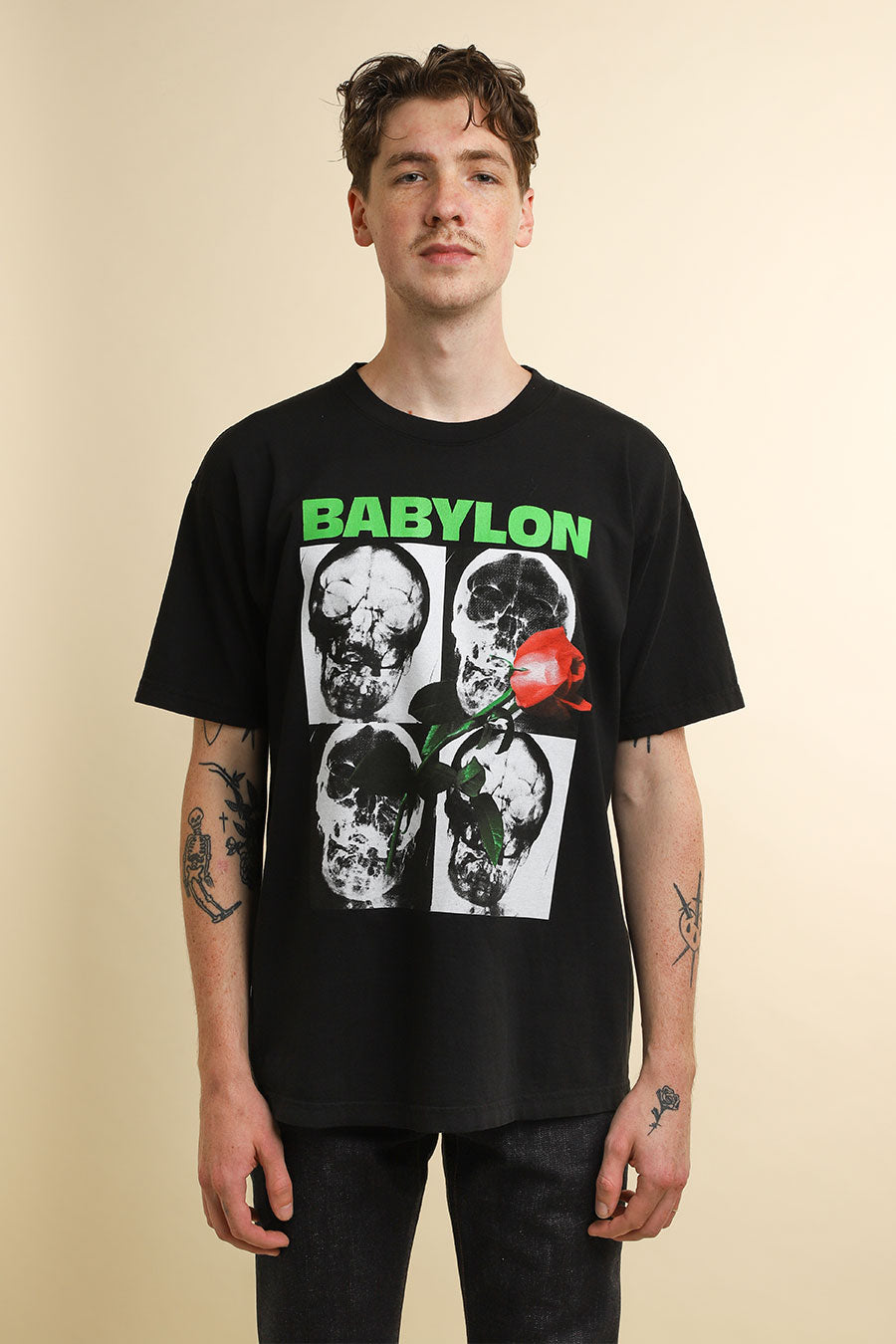 Babylon LA - Black Sub Rosa T-Shirt