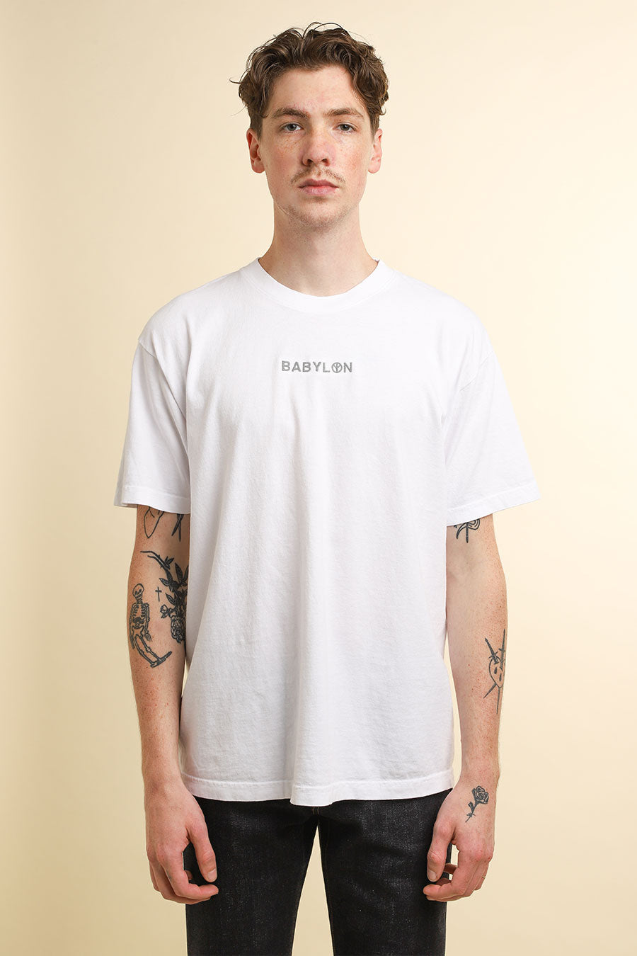 Babylon - White 3M Shop T-Shirt