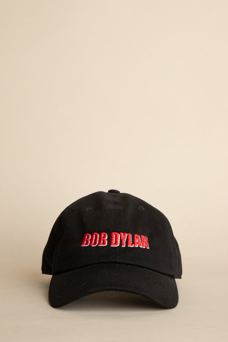 Pleasures - Black Bob Dylan Dad Hat