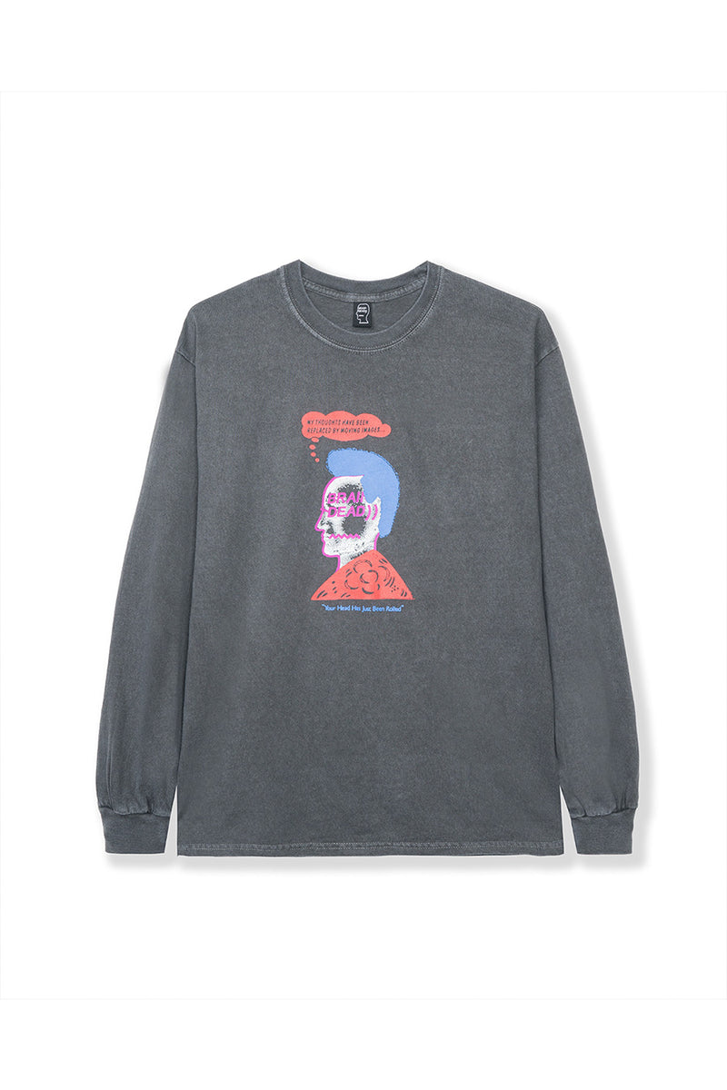 Black Head Party Long Sleeve T-Shirt