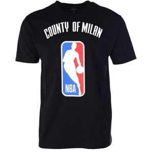 Marcelo Burlon County of Milan black NBA T Shirt Front New Guards Group