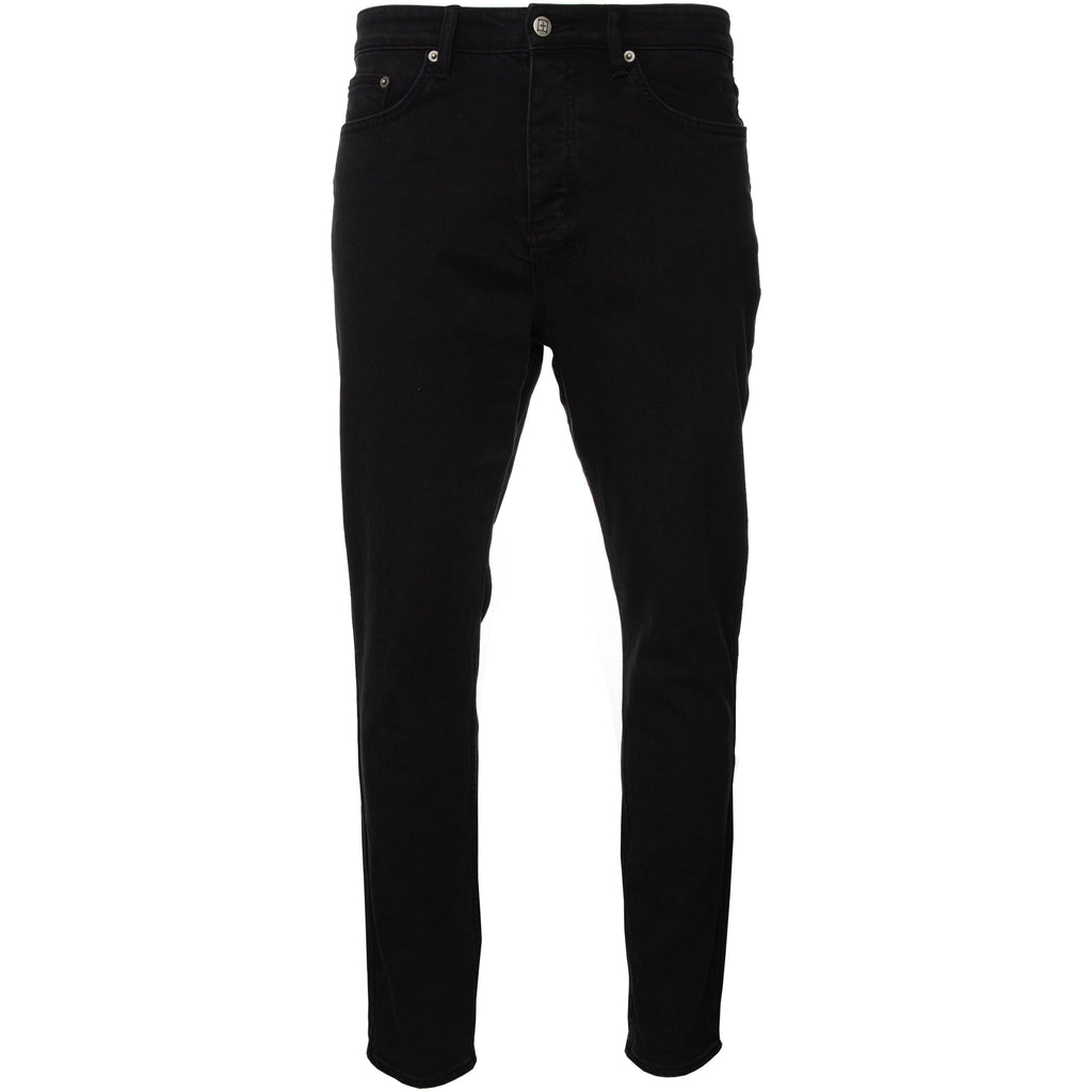 Black Hustler Wolfgang Denim Jeans with Cross Logo Ksubi Soobee Subi Subee