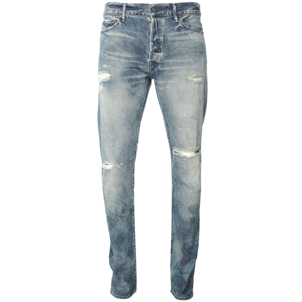 John Elliott - Blue The Cast 2 Lafayette Slim Jeans