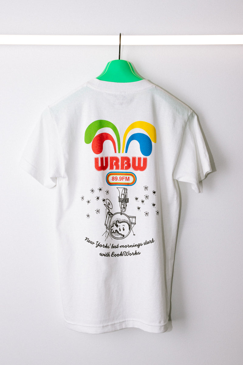 Real Book Works - White WRBW T-Shirt