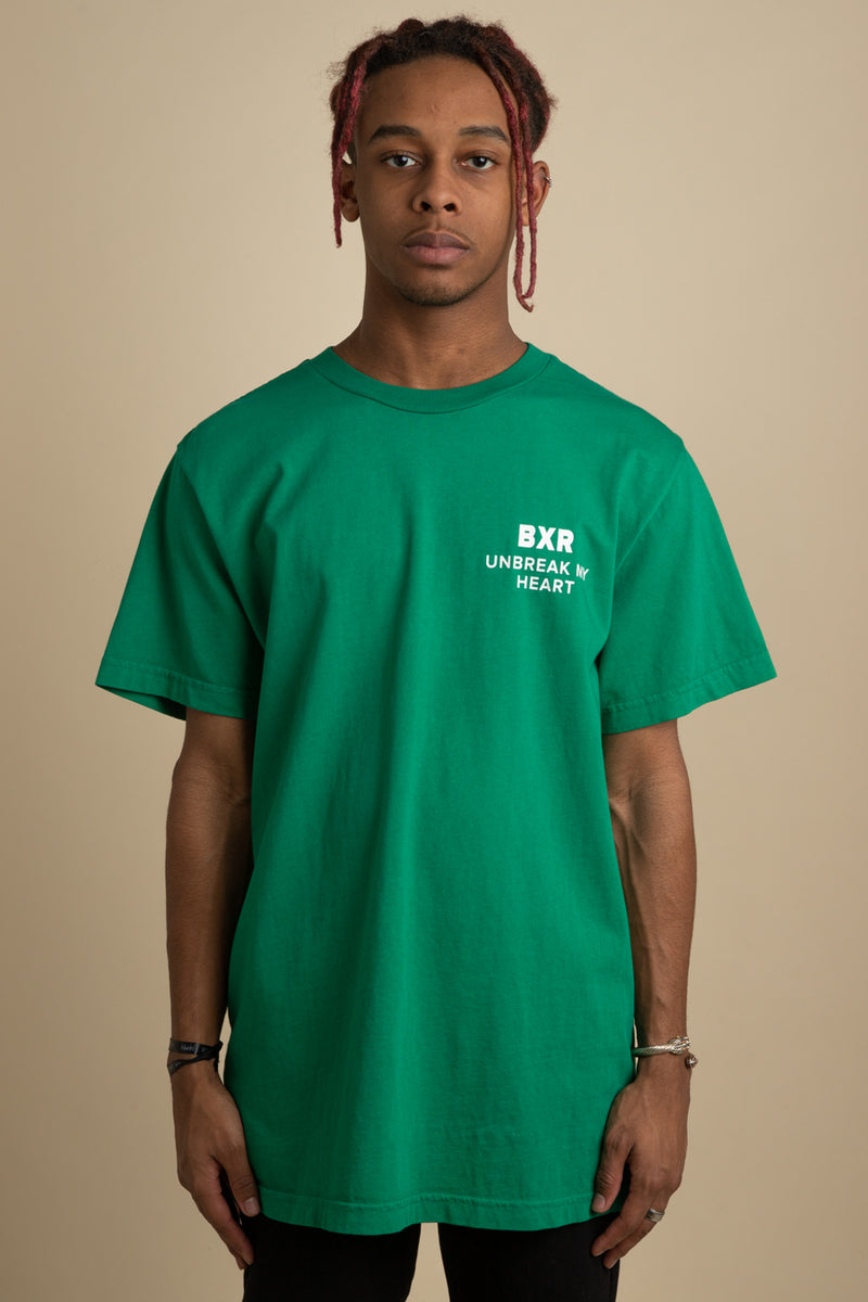 Born x Raised - Green Unbreak My Heart T-Shirt