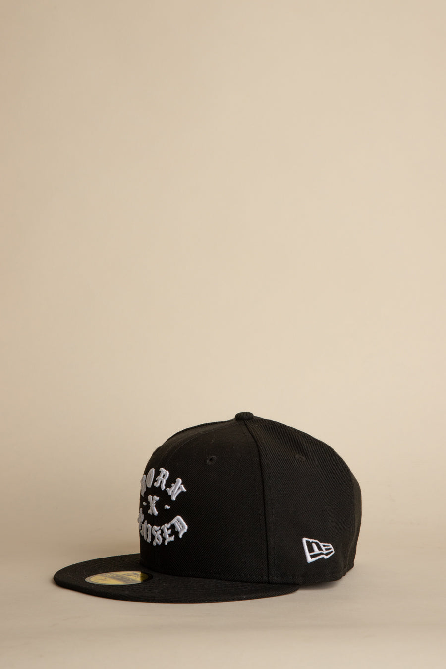 Born x Raised - Black New Era Rocker Fitted Hat