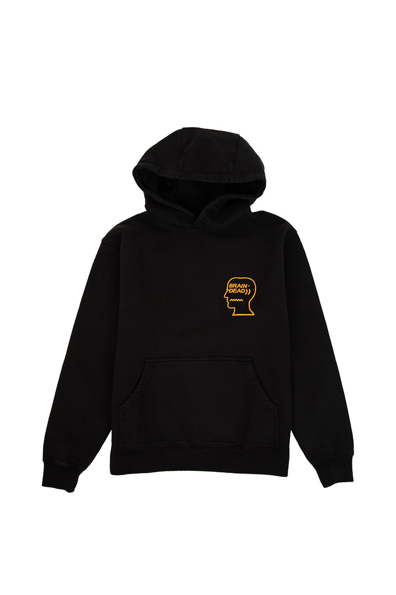 Brain Dead - Black Lovers Embrace Hoodie | 1032 SPACE