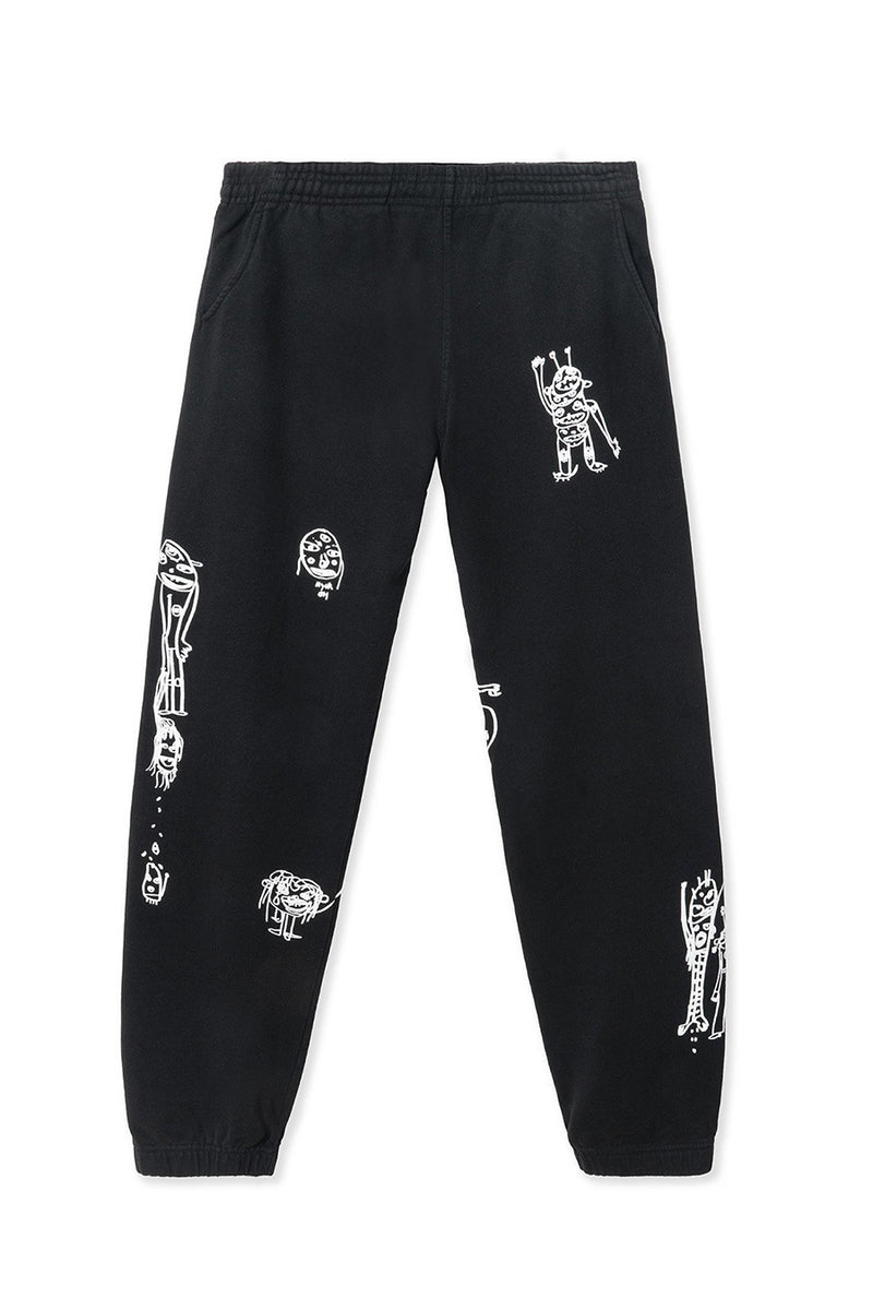 Brain Dead - Black P&TY Sweatpants