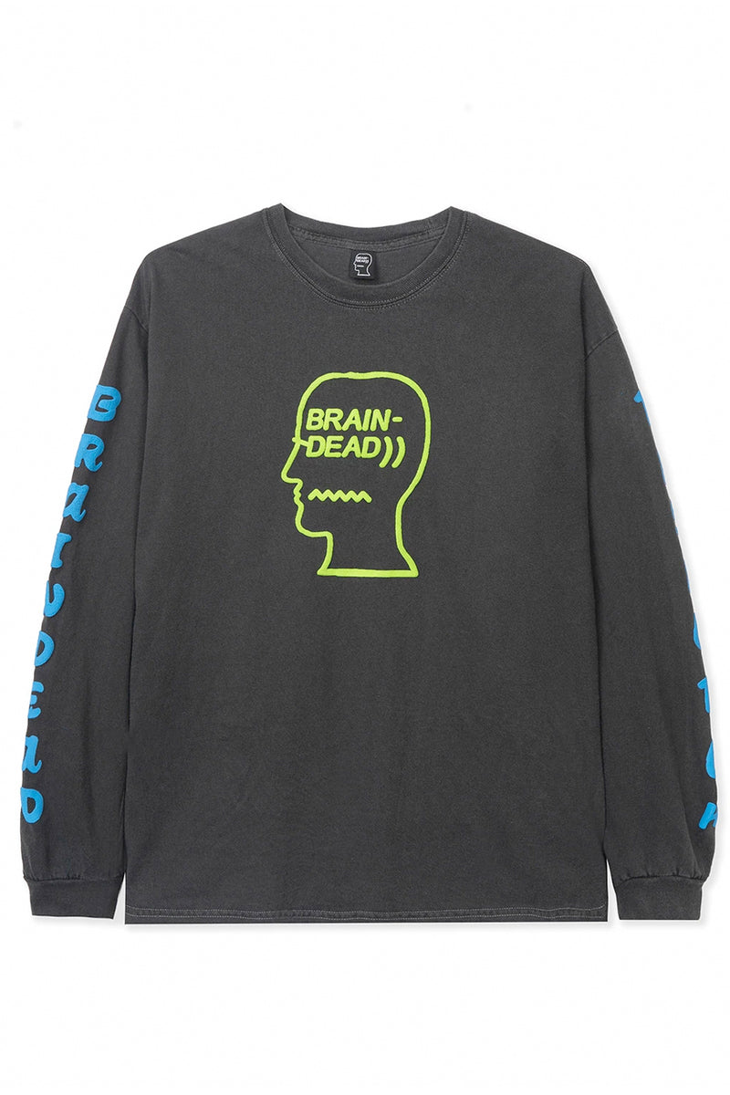 Brain Dead - Black Washed Vehicle T-Shirt