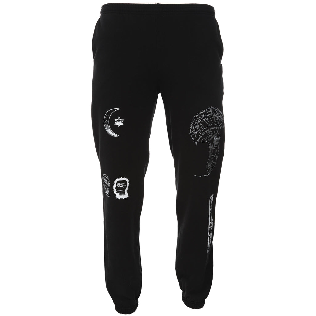 Black Washed Gustavo Sweats