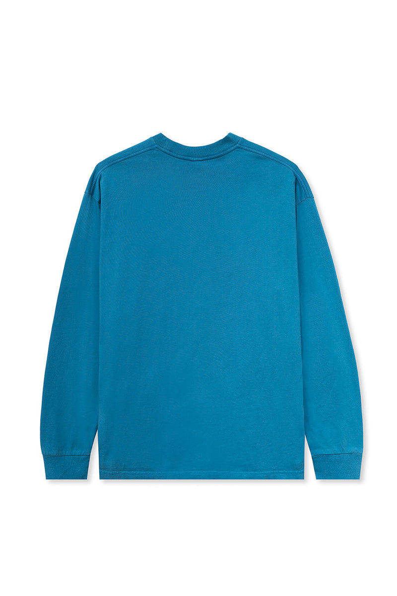 Brain Dead - Blue Puppet Long Sleeve T-Shirt | 1032 SPACE