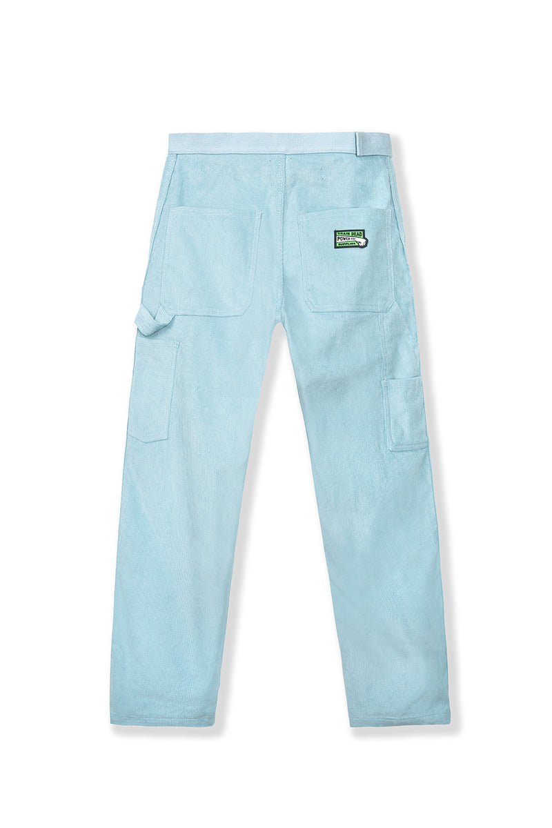 Brain Dead - Teal Corduroy Carpenter Pants