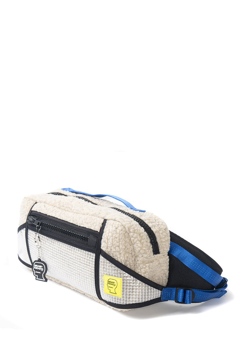 Brain Dead - Cream Sherpa Rush Hour Fanny Pack