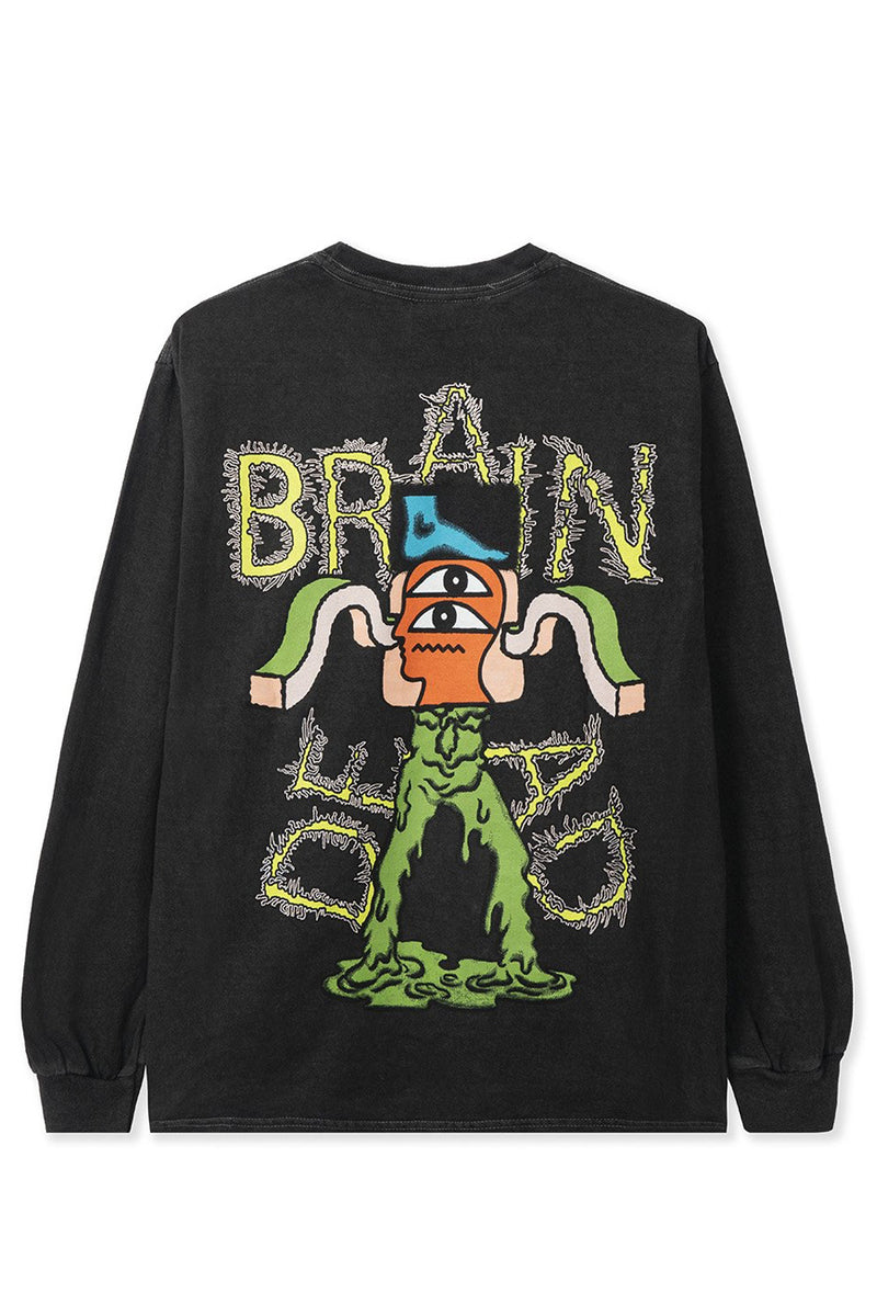 Brain Dead - Black Gooey Long Sleeve T-Shirt