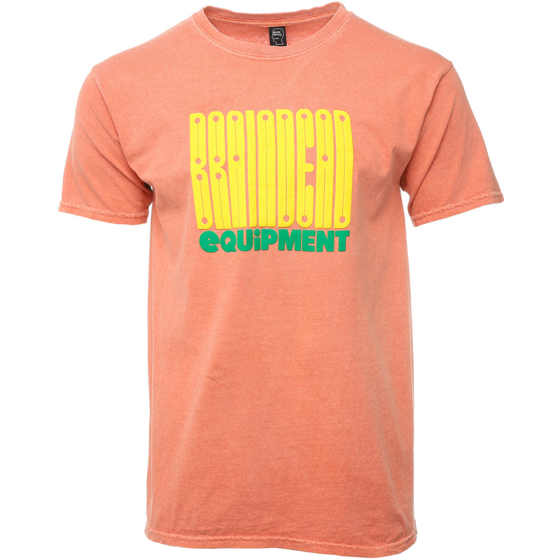 Brain Dead - Orange Equipment T-Shirt