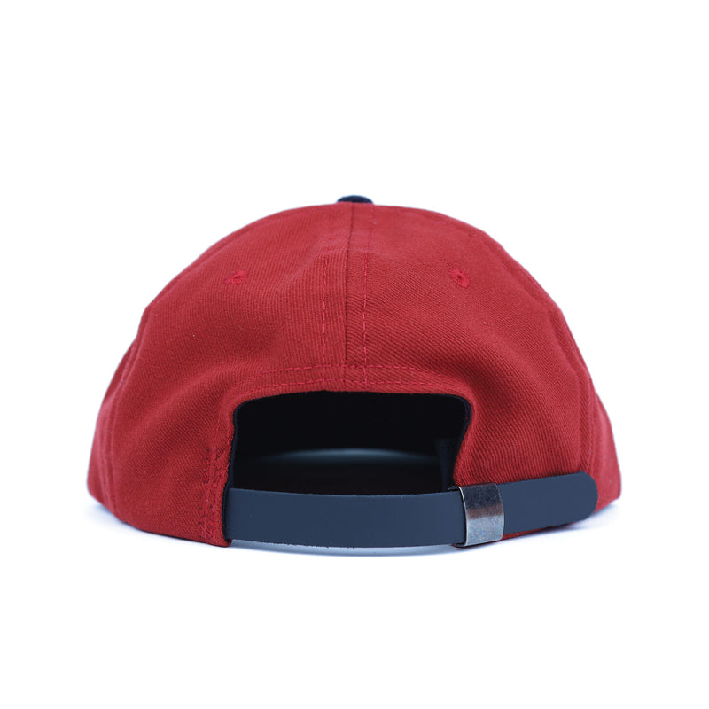 Brain Dead Red Cave Man Five Panel Hat Back