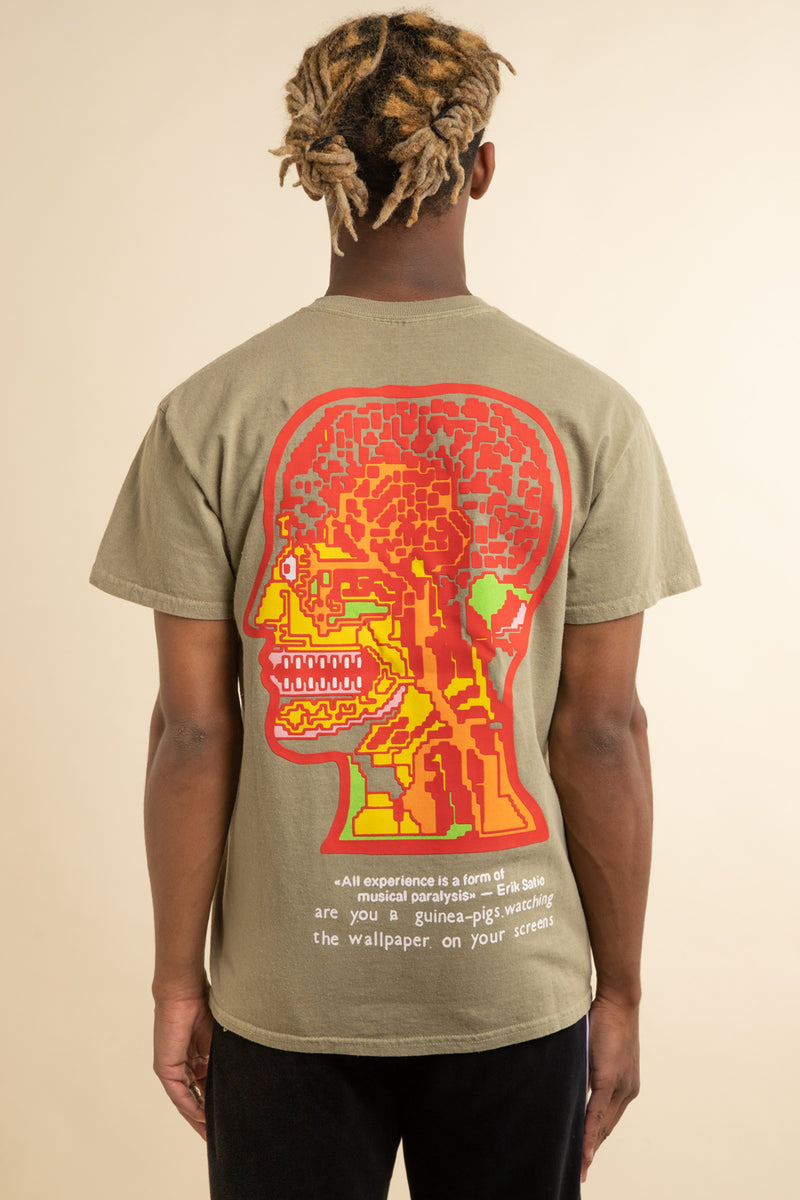 Brain Dead - Tan Heatwave T-Shirt