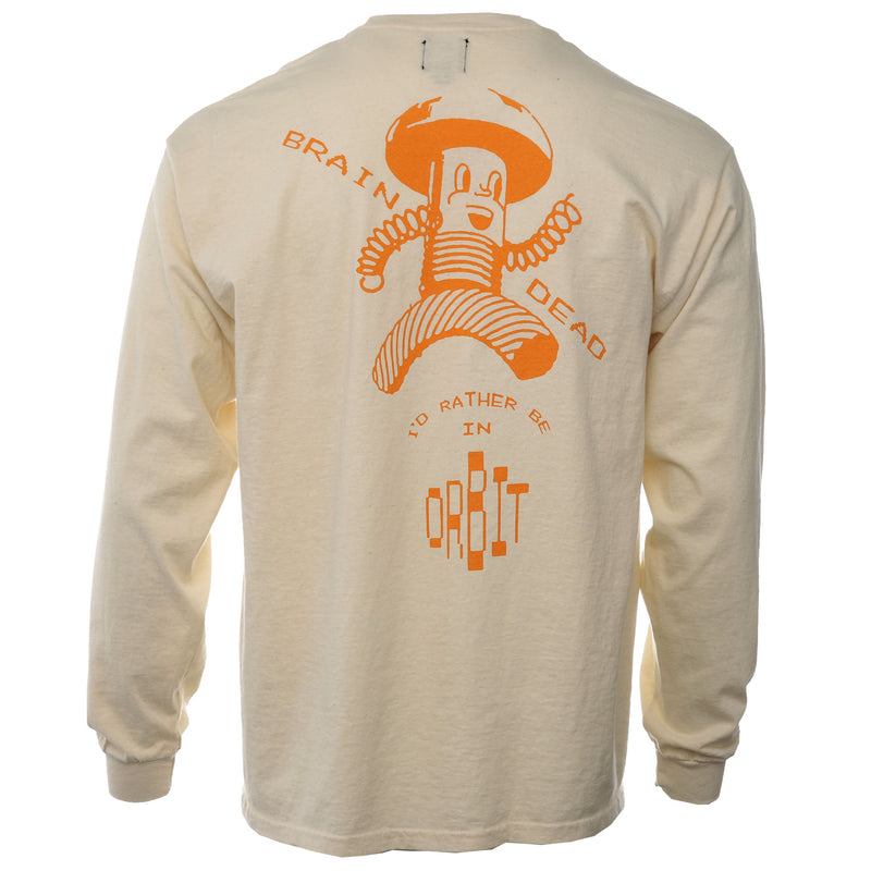 Tan Orbit Long Sleeve T-Shirt