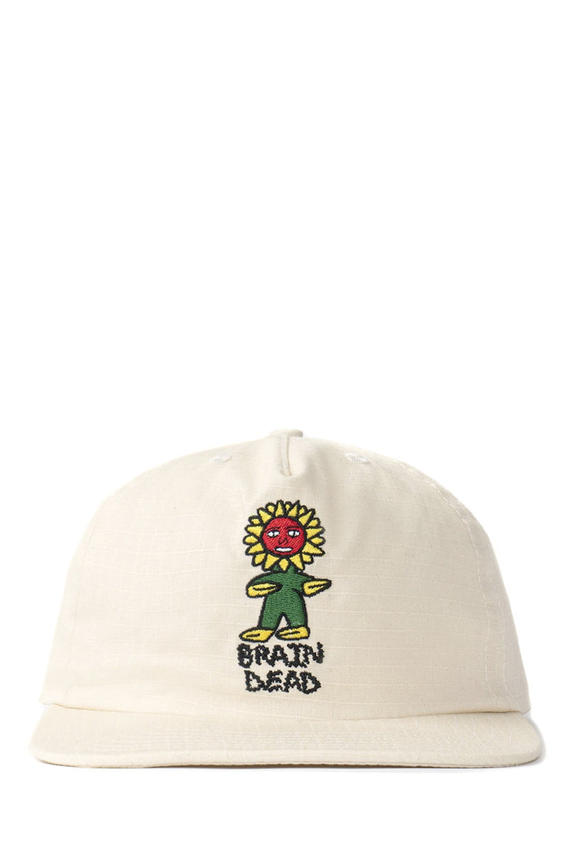 Brain Dead - Natural Floor Ripstop Five Panel Hat