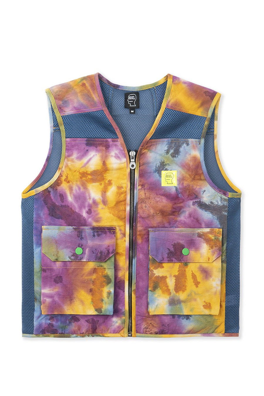 Brain Dead - Dyed Canvas Spacer Mesh Tactical Vest