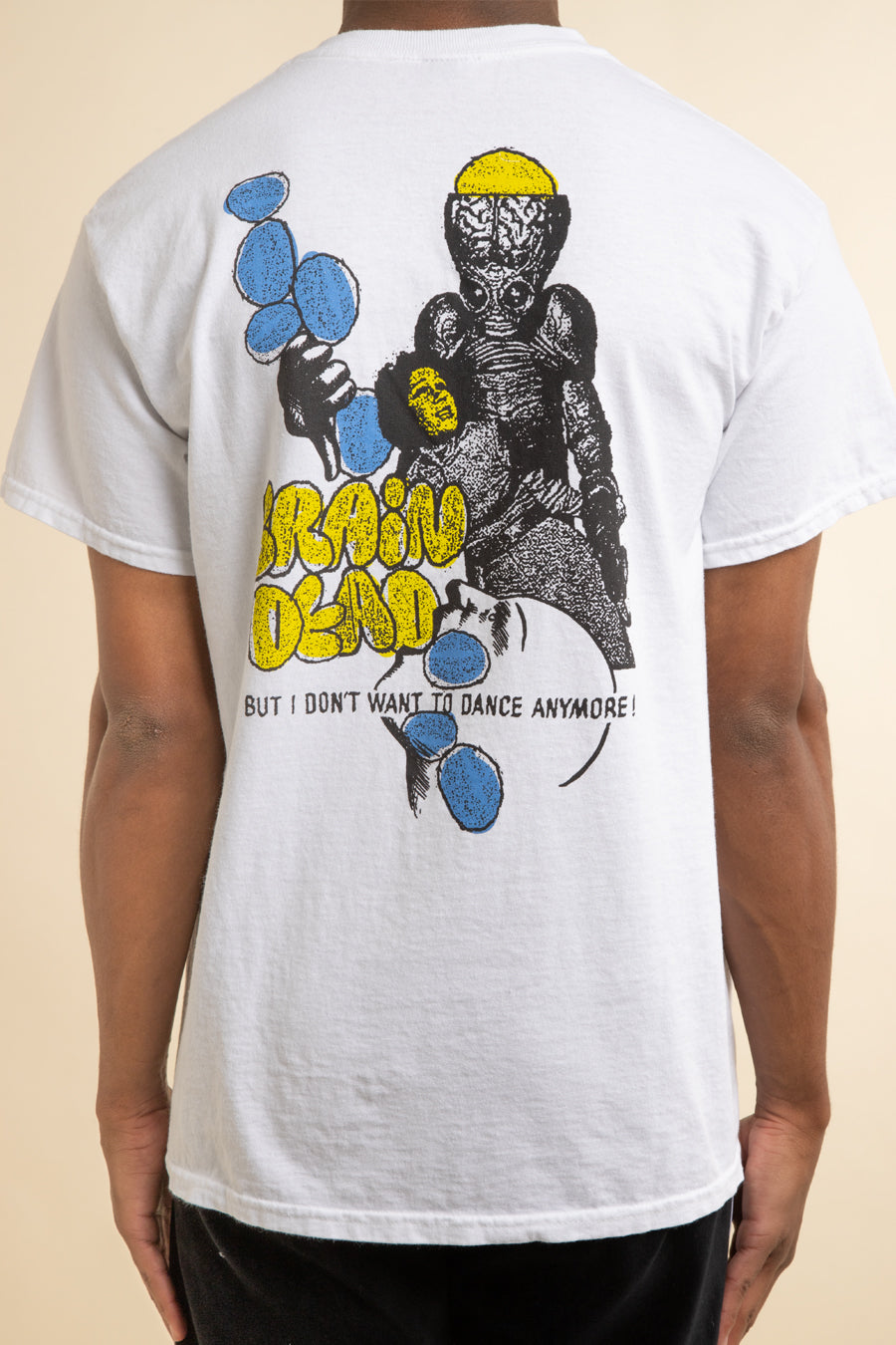 Brain Dead - White Invasion T-Shirt