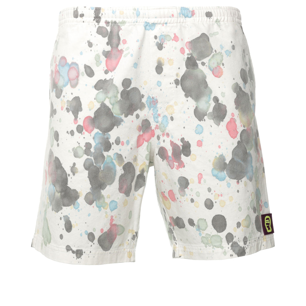 Brain Dead - White Splatter Dye Shorts