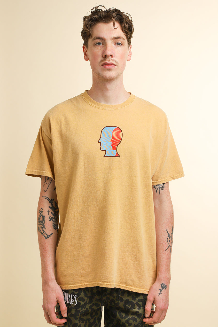 Brain Dead - Yellow Breathing Problems T-Shirt