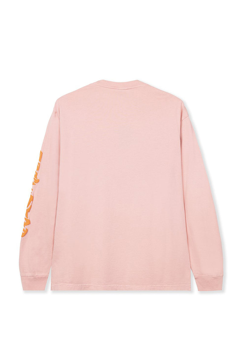 Brain Dead - Pink Bio Zone Long Sleeve T-Shirt