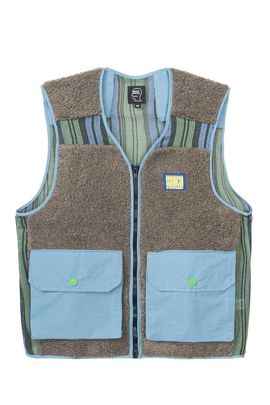 Brain Dead - Brown Sherpa Tactical Vest