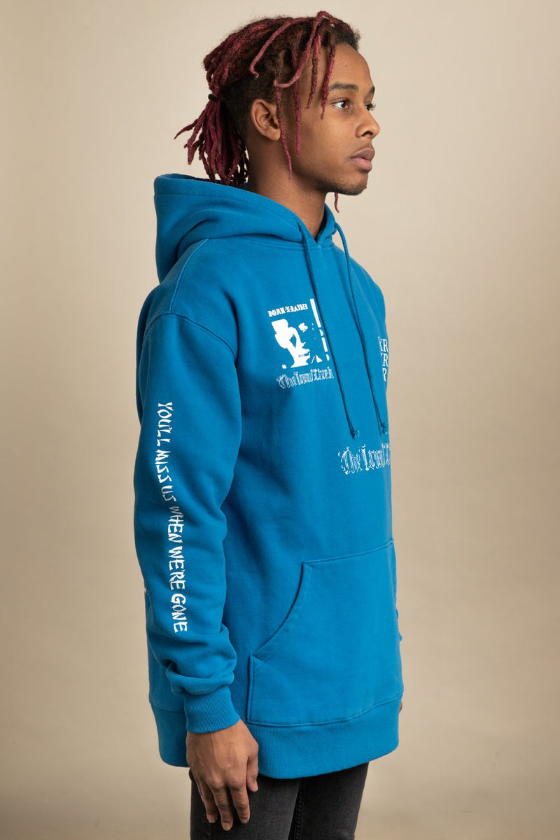 Born x Raised - Blue Eugene Hoodie