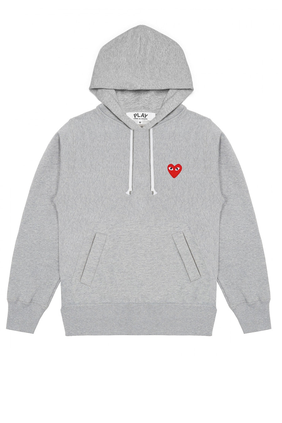 Comme des Garçons PLAY - Grey Play Pullover Hoodie