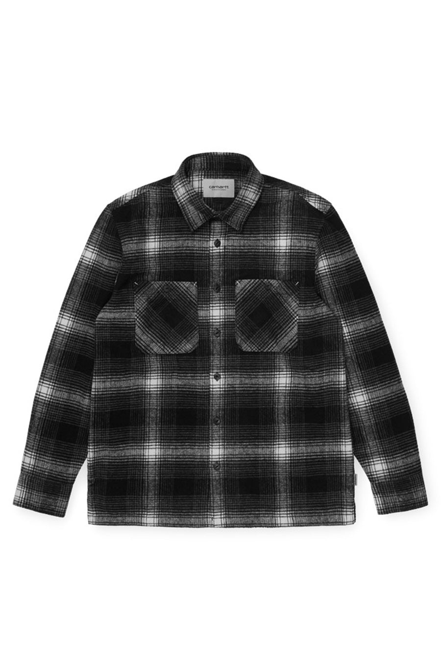Carhartt WIP - Black Nigel Check Shirt | 1032 SPACE