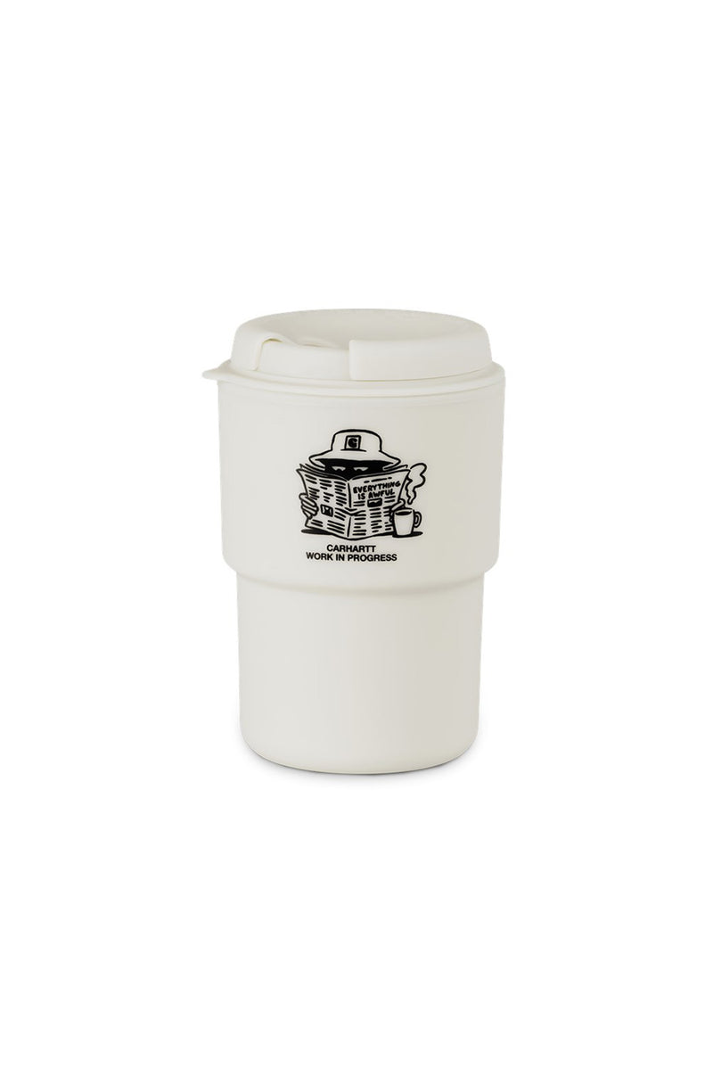 Carhartt WIP - Cream Awful Rivers General Mug | 1032 SPACE
