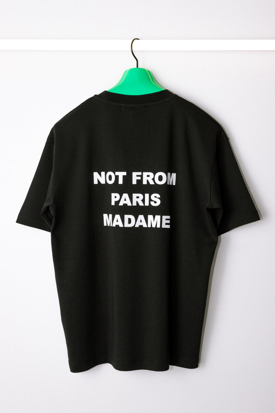 Drôle de Monsieur - Black Backprint NFPM T-Shirt