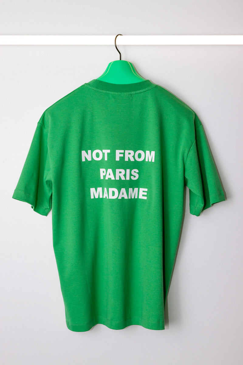 Drôle de Monsieur - Green Backprint NFPM T-Shirt