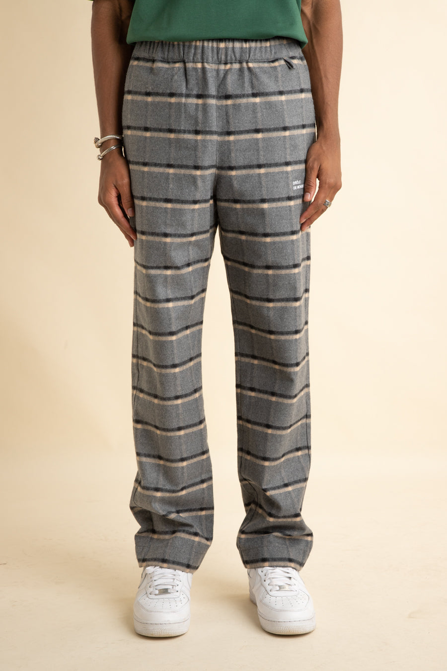 Grey Flannel Regular Pants