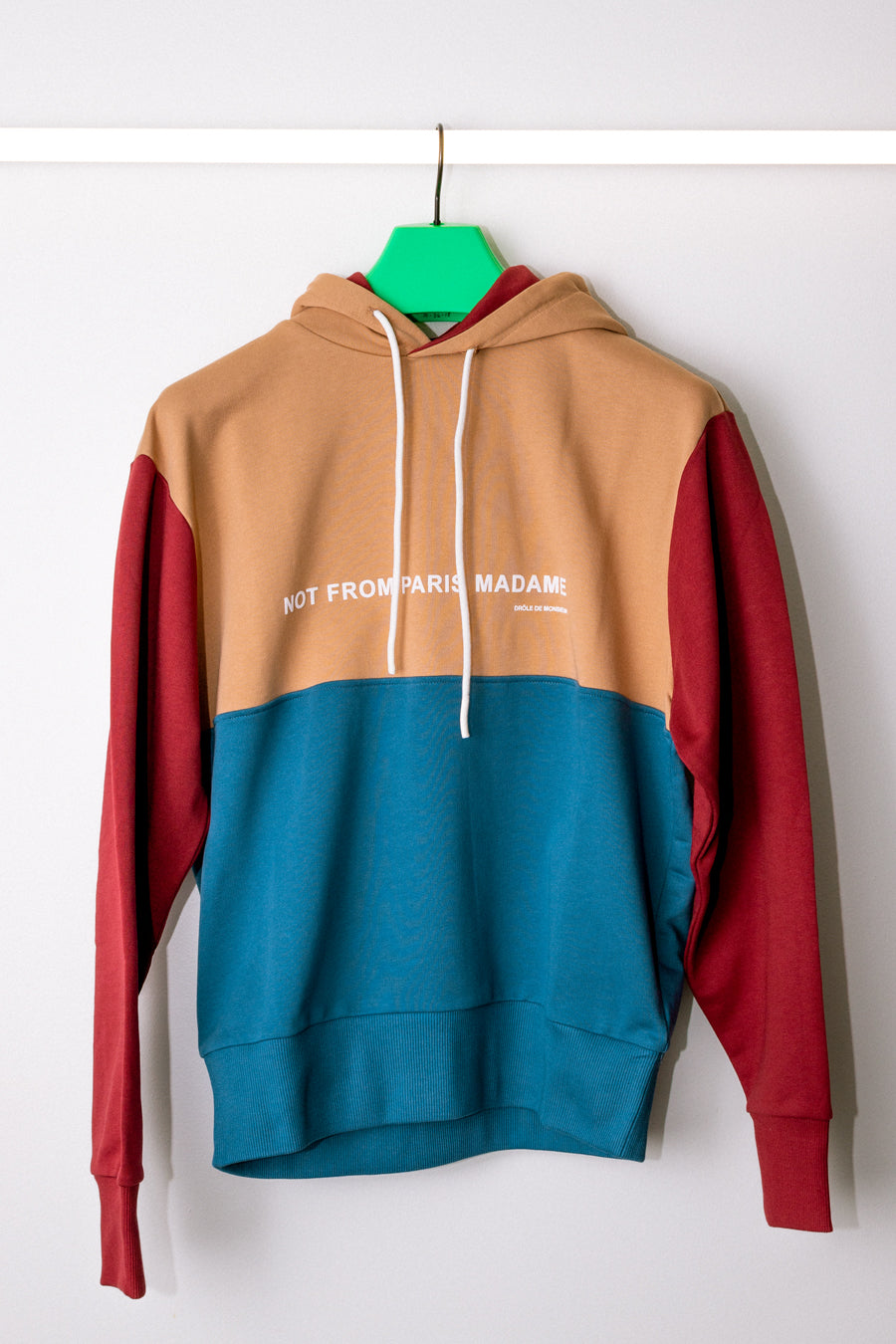 Drôle de Monsieur - Multicolor Paneled NFPM Hoodie