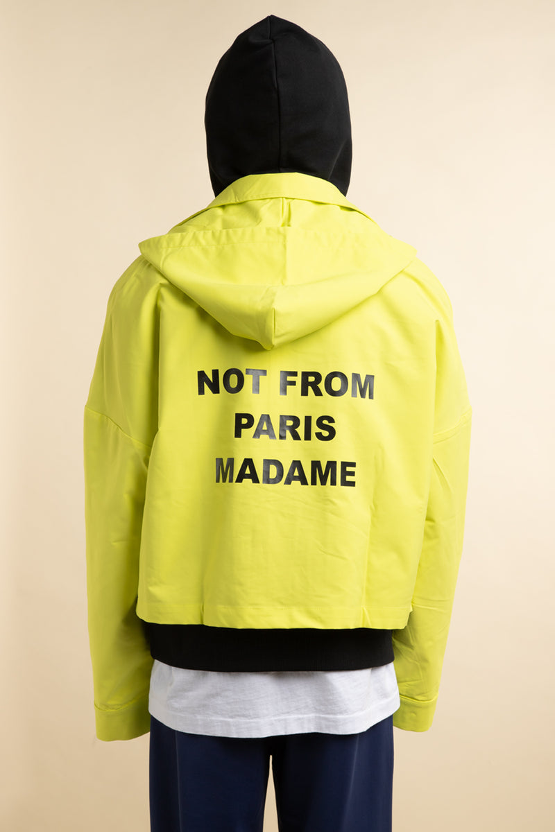 Drole de Monsieur - Yellow Cropped Jacket