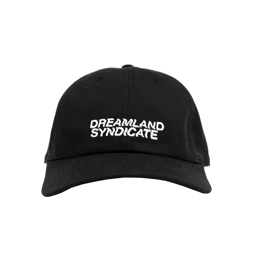 Dreamland Syndicate Black Logo Cap Front Bricks Cement